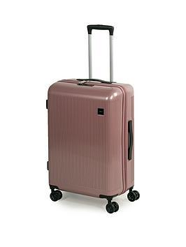rock-luggage-windsor-medium-8-wheel-suitcase-rose-pink