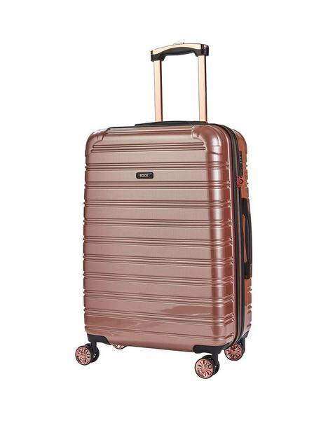 rock-luggage-chicago-medium-8-wheel-suitcase-rose-pink