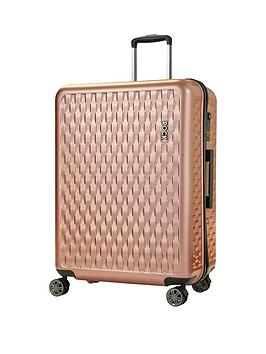 rock-luggage-allure-large-8-wheel-suitcase-rose-pink