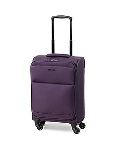 rock-luggage-ever-lite-carry-on-4-wheel-suitcase-purple