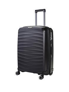 rock-luggage-sunwave-large-8-wheel-suitcase-black