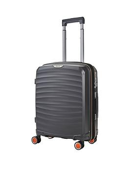 rock-luggage-sunwave-carry-on-8-wheel-suitcase-charcoal