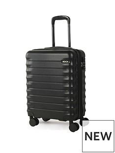 rock-luggage-synergy-carry-on-8-wheel-suitcase-black