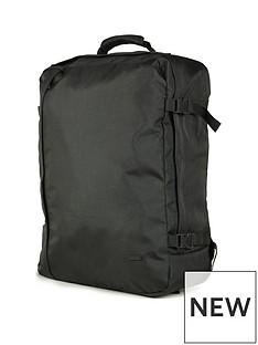 rock-luggage-large-cabin-backpack-black
