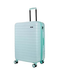 rock-luggage-novo-large-8-wheel-suitcase-pastel-green