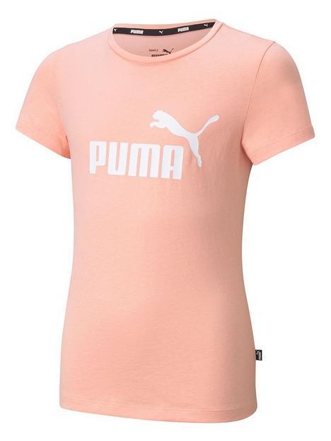 puma-girls-essential-logo-t-shirt-pink