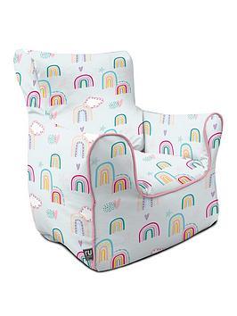 rucomfy-rainbow-sky-childrens-armchair