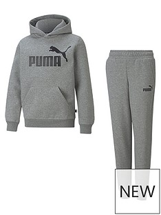 puma-boys-essentialnbspbig-logo-hoodienbspset-greynbsp