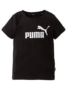 puma-boys-essential-logo-short-sleeve-t-shirt-black