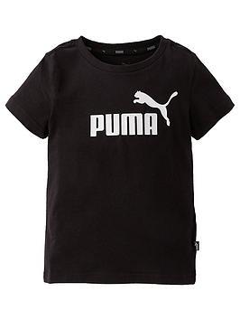 puma-boys-essential-logo-short-sleeve-t-shirt-black