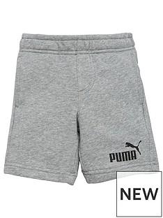 puma-boys-essentials-sweat-shorts-grey