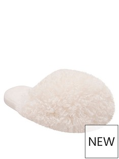 loungeable-dome-slipper-cream