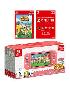 nintendo-switch-lite-console-with-animal-crossing-new-horizons-free-3-months-nintendo-switch-online