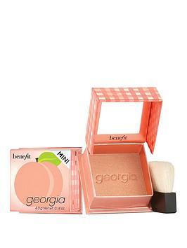 benefit-georgia-golden-peach-powder-blush-mini