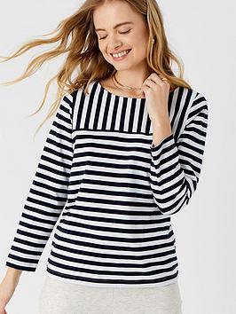 accessorize-stripe-boat-neck-t-shirt