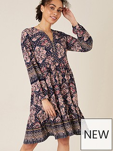 monsoon-rowan-heritage-print-short-dress-navy