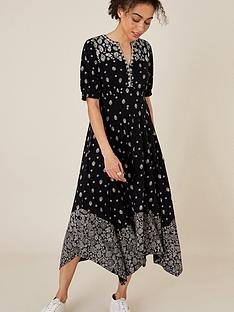 monsoon-alianna-print-heritage-hanky-hem-dress-black