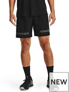 under-armour-trainingnbspwoven-graphic-wordmarknbspshorts-blackgrey