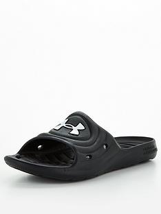 under-armour-m-locker-iv-slides-blackwhite