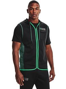 under-armour-training-af-storm-hooded-vest-blackgreen