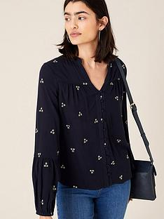 monsoon-embroidered-top-navy
