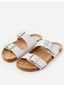 accessorize-buckle-footbed-sandal-silver
