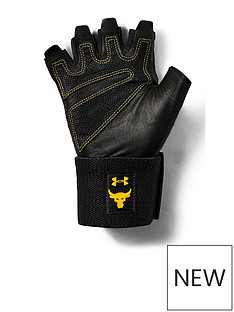 under-armour-project-rock-training-gloves-blackgold