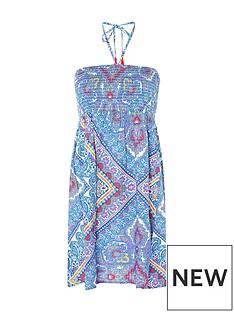 accessorize-kerala-scarf-print-bandeau-dress-blue