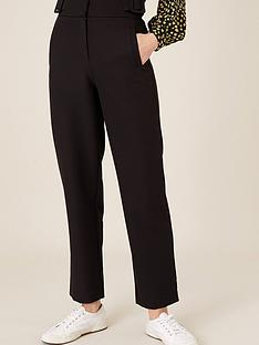 monsoon-buckle-detail-smart-tapered-trouser-black