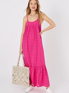 accessorize-dobby-maxinbspdress-pink