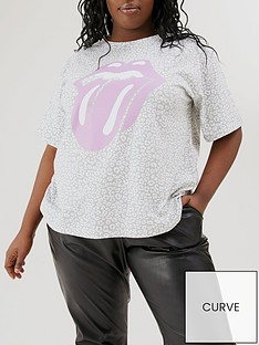 v-by-very-curve-animal-print-rolling-stones-t-shirt-print