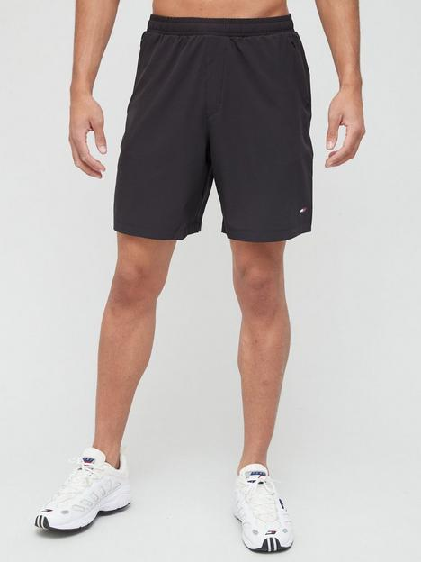 tommy-sport-stretch-training-shorts-black