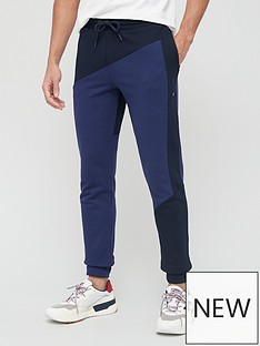 tommy-sport-colour-block-cuff-pant-navynbsp