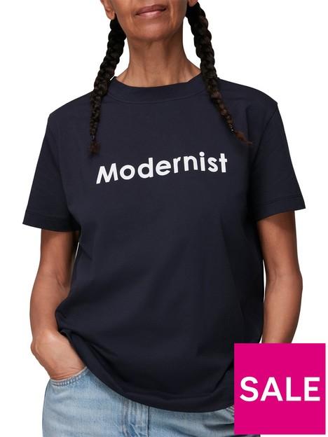whistles-modernist-logo-t-shirt-navy