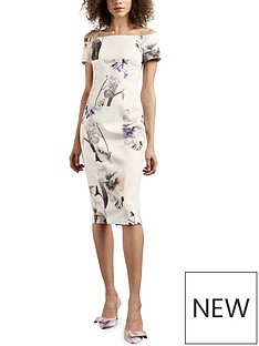 ted-baker-vanilla-bodycon-bardot-dress-white