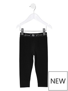 river-island-mini-mini-girls-new-waistband-legging-black