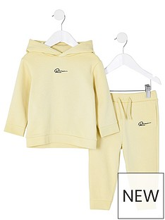 river-island-mini-boys-logo-hoodie-and-jog-set-stone