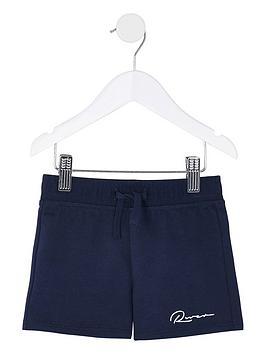 river-island-mini-mini-boys-jog-shorts--nbspnavy