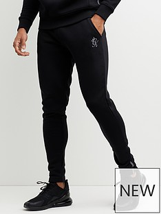 gym-king-pro-logo-tapered-jogger-black