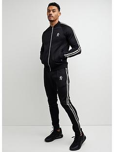 gym-king-taped-poly-premium-tracksuit-blackwhite