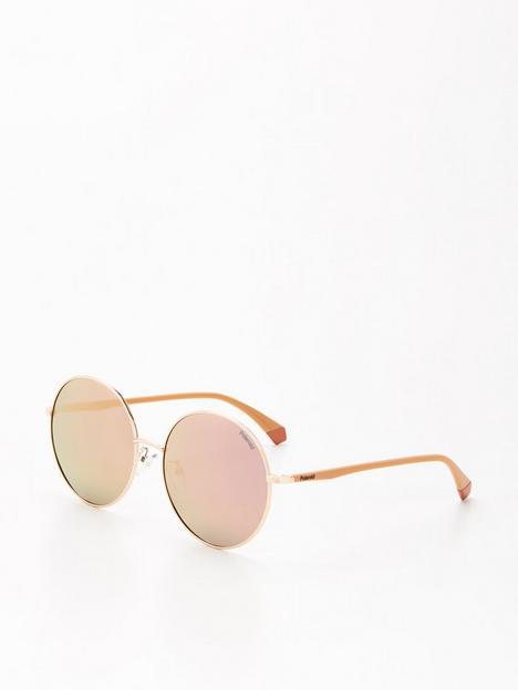 polaroid-round-sunglasses--nbspgoldnbsp