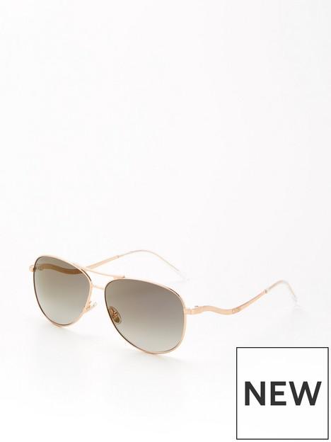 jimmy-choo-essy-pilot-sunglassesnbsp--gold