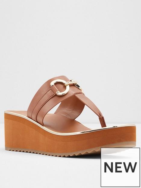 aldo-gwalidia-wedge-sandal-cognac