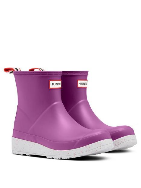 hunter-original-play-speckle-sole-short-wellington-boot