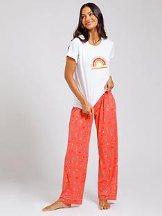 chelsea-peers-rainbow-pyjama-set-pink