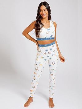 chelsea-peers-crop-top-pyjama-set-neutral