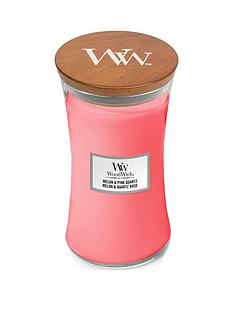 woodwick-woodwick-large-hourglass-scented-candle-melon-pink-quartz-with-crackling-wick