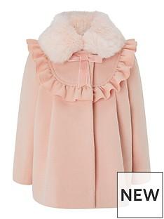 monsoon-baby-girls-pink-frill-coat-pink