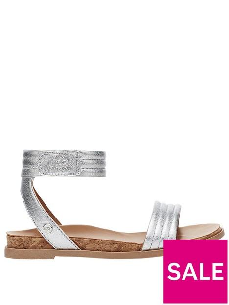 ugg-ethena-sandal-silver