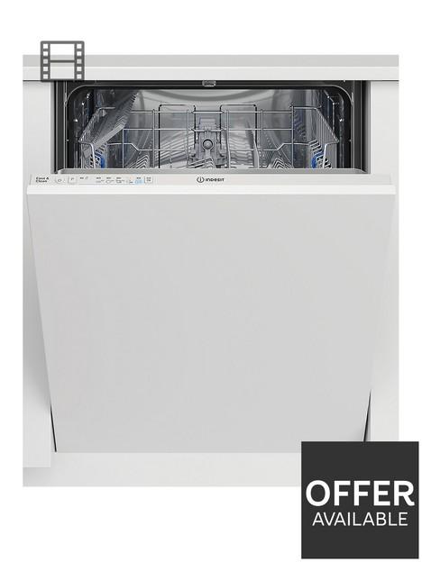 indesit-die2b19uk-built-in-13-place-full-size-dishwasher-white